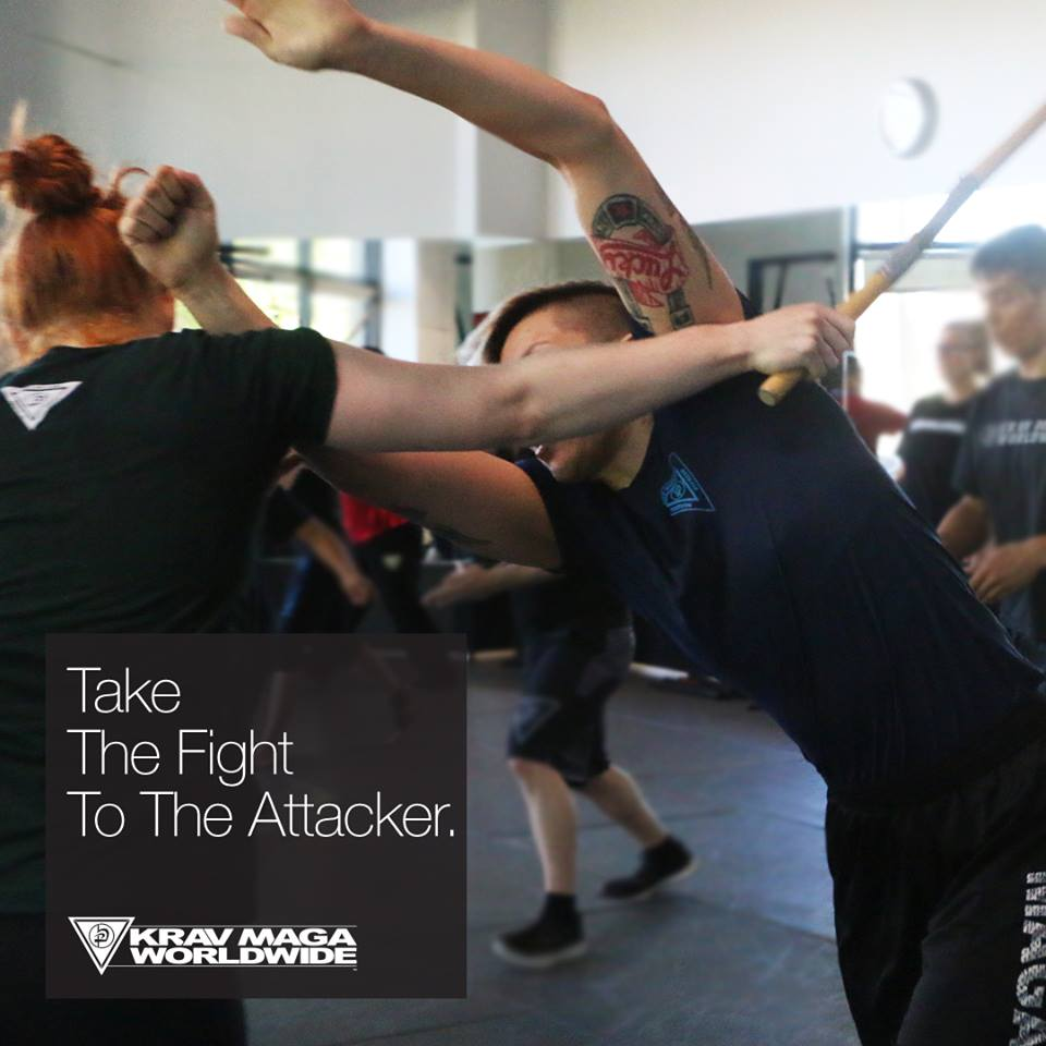 Take The Fight To The Attacker