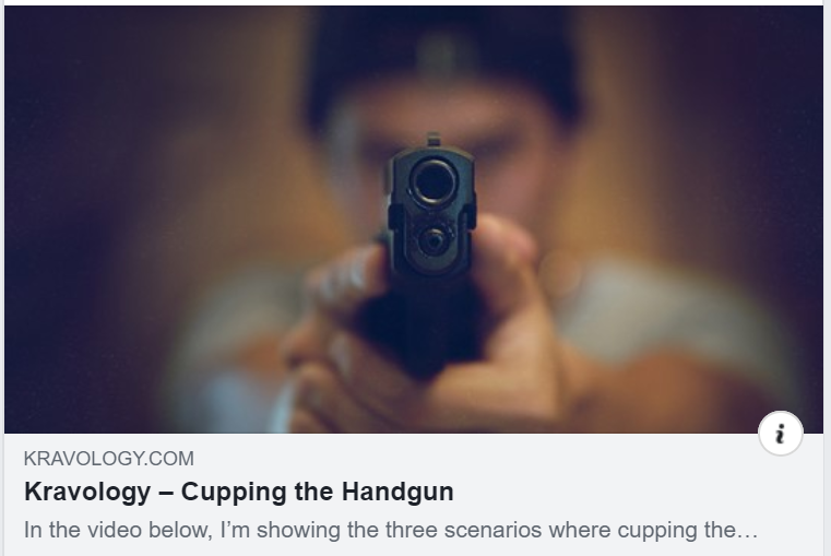 Cupping The Handgun