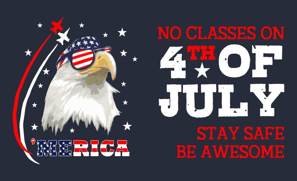No Classes On July 4th