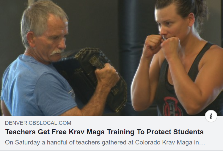 Teachers Get Free Krav Maga Training To Protect Students