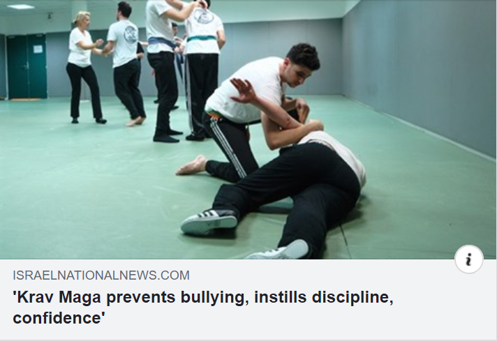 Krav Maga prevents bullying, instills discipline, confidence