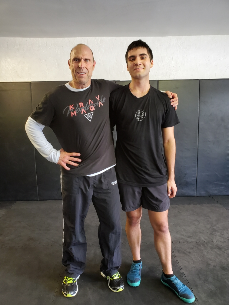 Mark Gerhardt and Matthew Thomas Krav Maga Level 1 (Yellow Belt) Test