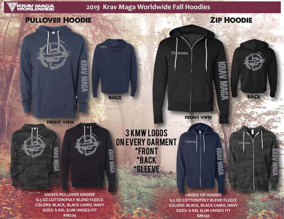 Krav Maga Worldwide sweatshirts