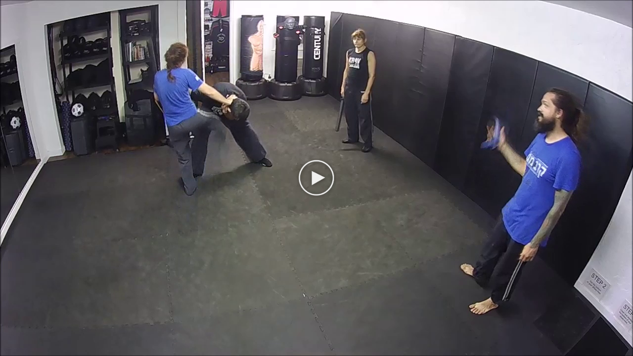 recording Krav Maga training