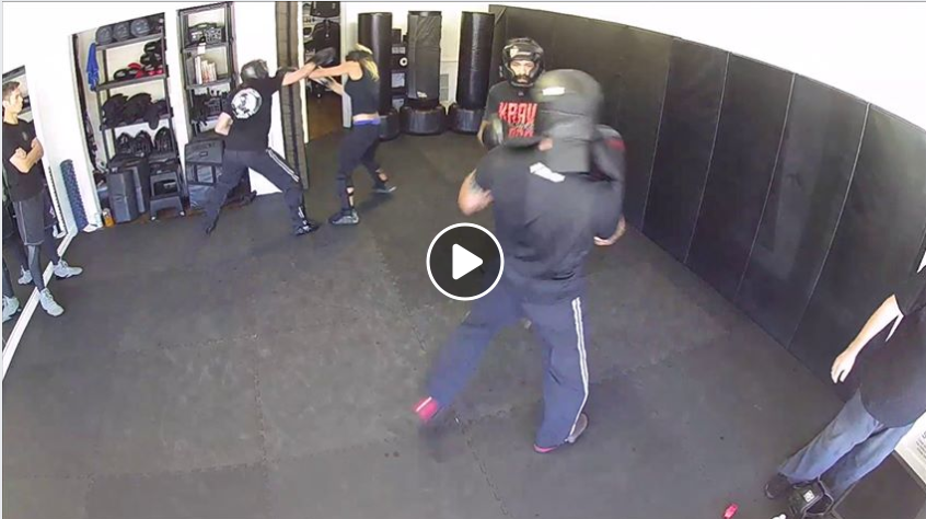 Krav Maga Level 4 sparring