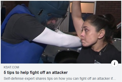 5 tips to help fight off an attacker