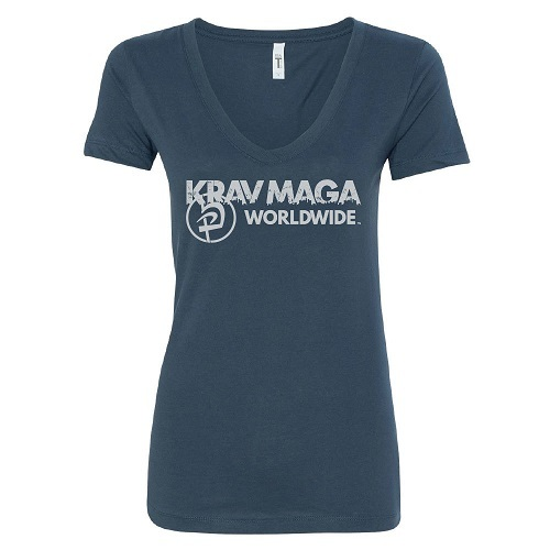 Krav Maga Outlook V-Neck Tee
