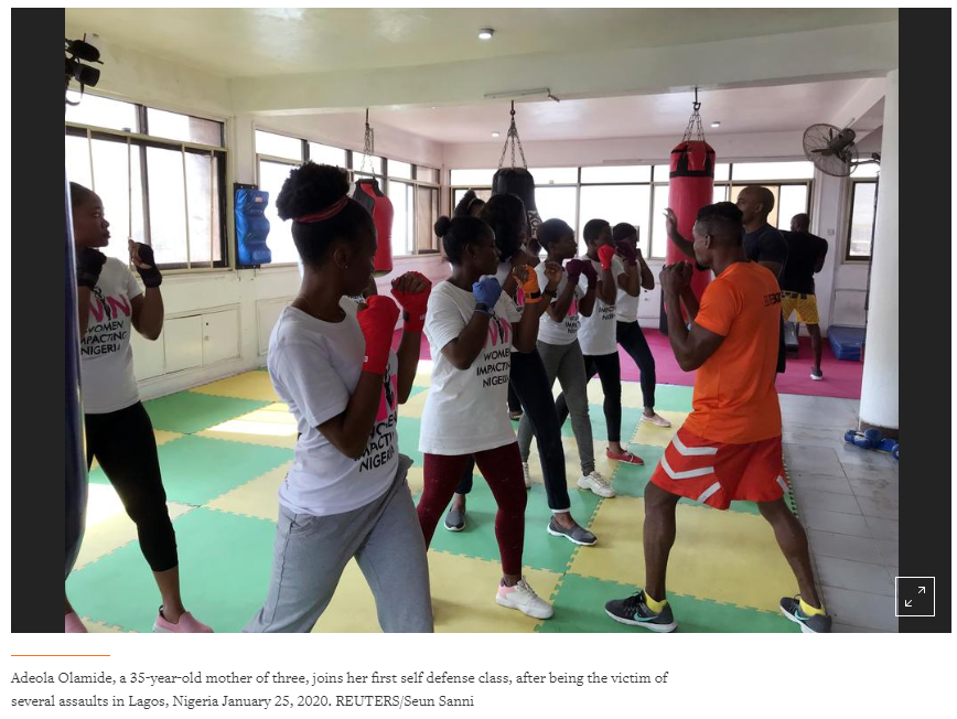 'Me Too' Nigeria style: women opt for martial arts over marches