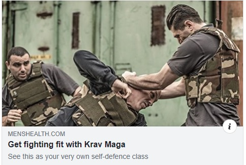 Get fighting fit with Krav Maga