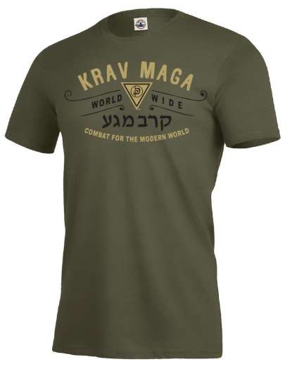 Krav Maga Vertu Athletic Tee - Moss